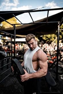 欧美肌肉帅哥图片素材