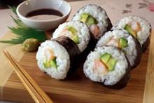 细卷寿司高清图片