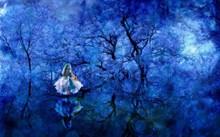 藍色夢幻桌面壁紙圖片大全