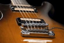 电吉他局部特写高清图片