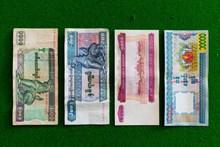 缅甸纸币精美图片