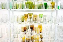 各式各样玻璃杯精美图片