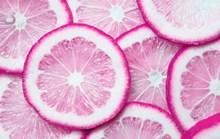 新鲜紫色柠檬片 新鲜紫色柠檬片大全图片