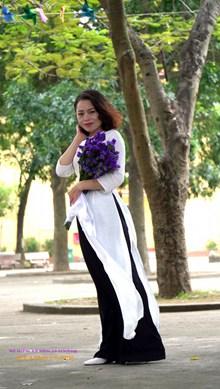 越南服装美女生活照图片素材