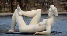 裸体艺术石像雕塑图片下载