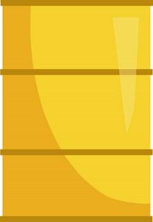 卡通黄色油桶图片素材