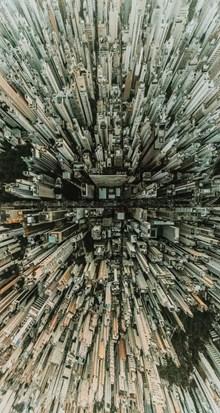 空中摄影城市建筑高清图