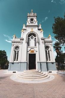 白色教堂建筑图片大全