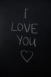 手写i love you高清图