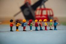 微型乐高玩具图片素材