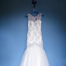 蕾丝婚纱礼服图片大全