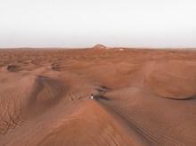 戈壁沙漠风景图片