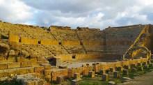 罗马废墟古代建筑高清图