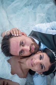 新郎新娘婚纱照头像图片素材