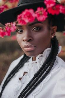 黑人美女个性头像图片下载