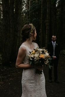 婚纱照外景风格图片素材