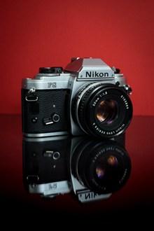 尼康数码相机素材高清图