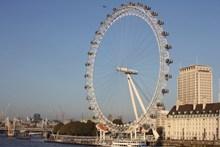 伦敦摩天轮旋转图片大全