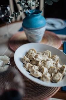 一碗水饺图片下载