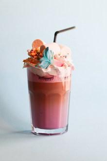 冰淇淋奶盖饮料 冰淇淋奶盖饮料大全精美图片
