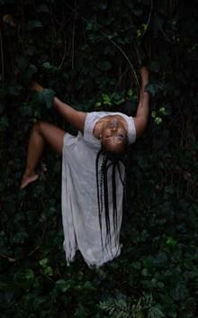 黑人大胆人体美女摄影高清图