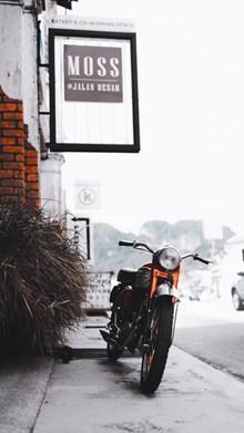简便二轮摩托车高清图