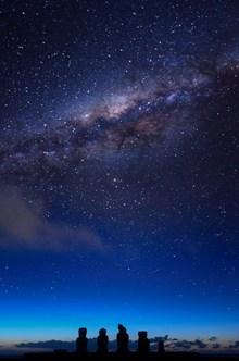 唯美深色银河星空 唯美深色银河星空大全图片大全
