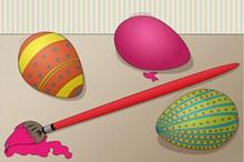 复活节卡通彩蛋高清图