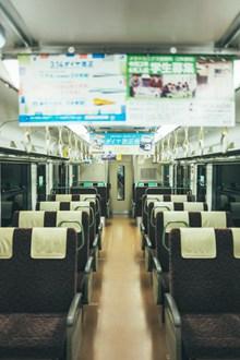 动车车厢座位高清图片