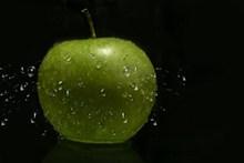 绿色苹果广告摄影图图片下载