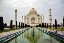 印度泰姬陵高清图片素材