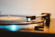 音乐胶片唱机高清图