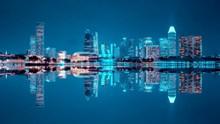 灯光城市夜景唯美高清图