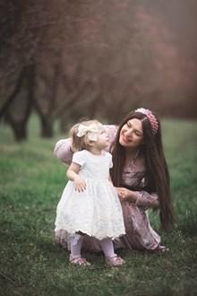 亲子互动母女照片图片大全