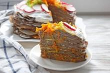 蔬菜千层蛋糕 蔬菜千层蛋糕大全图片下载