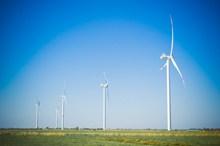 电力发电大风车图片