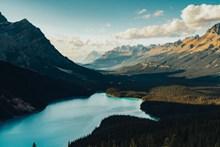 自然湖泊唯美风景精美图片