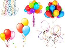 儿童节庆祝气球免抠图片大全
