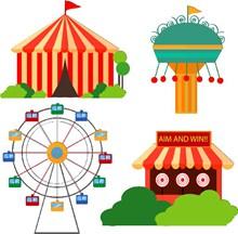 儿童节游乐园免抠素材图片大全