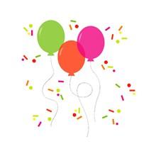 庆祝气球免抠图片大全