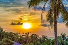 越南黄昏高清图
