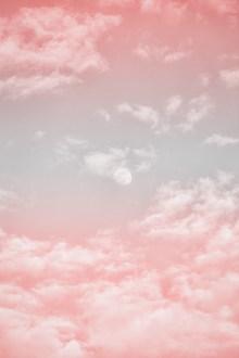 粉色天空朝霞图片大全