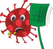冠状流行病毒卡通精美图片