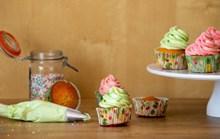 自制彩色小蛋糕精美图片