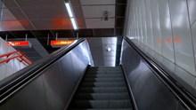 地铁电梯局部高清图