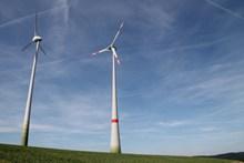 高地发电风车图片