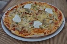 美味素食披萨高清图