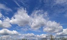 蓝天白云飘云高清图