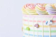 彩虹奶油蛋糕 彩虹奶油蛋糕大全图片