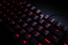 黑色电脑键盘高清图片下载